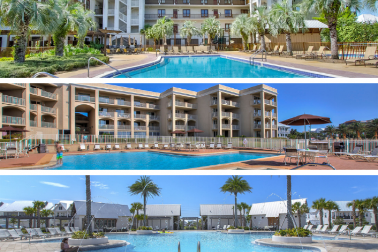 30A Condos with Fitness Facilities