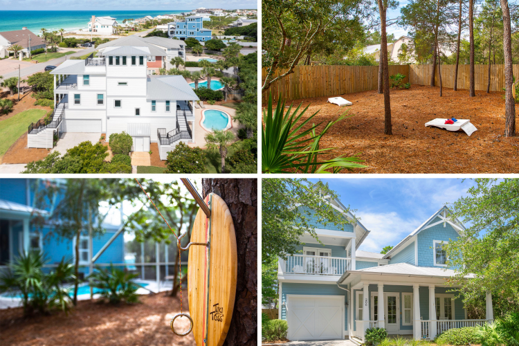 30A Vacation Homes with Yard Games