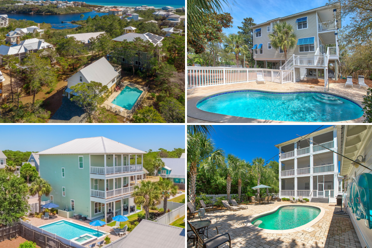 Four Gulfview Heights Vacation Homes